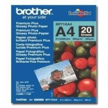 Brother BP71GA4 AP A4 glossy photo paper