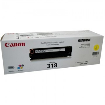 Canon 318 Y Yellow