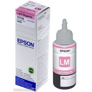 Epson T6736 Light Magenta Ink Bottle 70ml